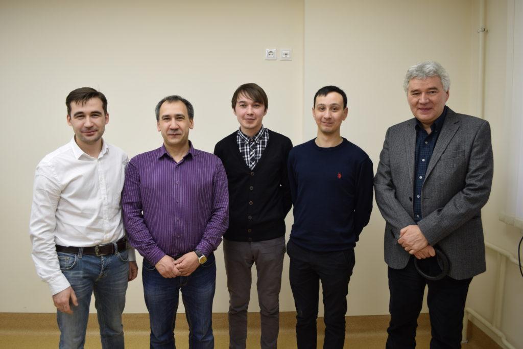 Сотрудники НИЛ Структурная биология